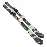 Salomon Womens Bamboo Skis with Z10 TI Bindings, Black