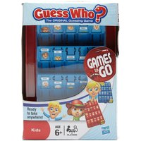 Hasbro Travel Guess Who? - Blue, Blue