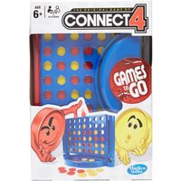 Hasbro Travel Monopoly Card Game - Connect4/Connect4, CONNECT4/CONNECT4