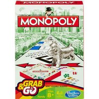 Hasbro Travel Monopoly Card Game, Multi