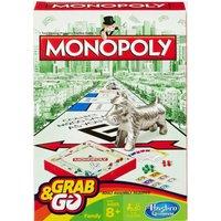 Hasbro Travel Monopoly - White, WHITE
