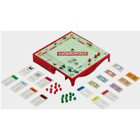 Hasbro Travel Monopoly Card Game, Red