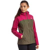 The North Face Womens Stratos HyVent Jacket, Green