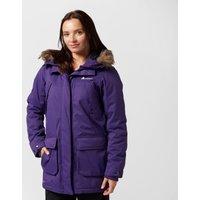 Technicals Womens Particle Parka Jacket, Purple