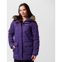 Technicals Womens Particle Insulated Parka - Purple, Purple