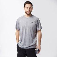 Under Armour Mens UA Tech Short Sleeve T-Shirt, Grey