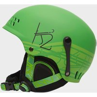K2 Junior Entity Ski Helmet, Green