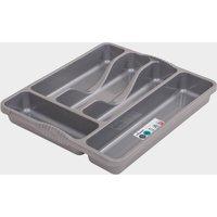 Quest Plastic Cutlery Organiser, Grey