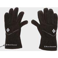 Black Diamond WindWeight Liner Gloves, Black