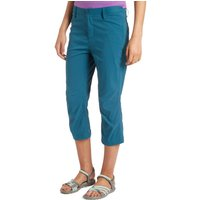 Peter Storm Womens Stretch 3/4 Trousers, Blue