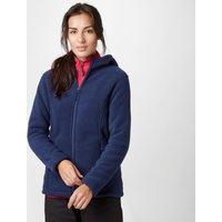 Peter Storm Womens Celia Hooded Fleece Jacket, Navy