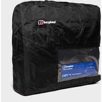 Berghaus Air 4 Tent Footprint, Black/Black