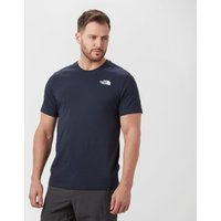 The North Face Mens Redbox Short Sleeve T-Shirt, Navy
