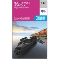 Ordnance Survey OS Landranger 132 North West Norfolk, King's Lynn & Fakenham Map, D/D