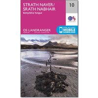 Ordnance Survey Landranger 10 Strathnaver, Bettyhill & Tongue Map With Digital Version, Orange