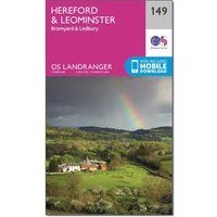 Ordnance Survey Landranger 149 Hereford & Leominster, Bromyard & Ledbury Map With Digital Version, N/A