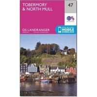 Ordnance Survey Landranger 47 Tobermory & North Mull Map With Digital Version, N/A