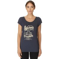 One Earth Womens Victorian T-Shirt, Navy