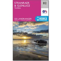 Ordnance Survey Landranger 82 Stranraer & Glenluce Map With Digital Version, N/A