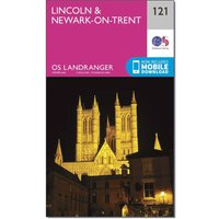 Ordnance Survey Landranger 121 Lincoln & Newark-on-Trent Map With Digital Version, N/A