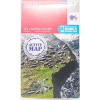Ordnance Survey Landranger Active 7 Orkney Southern Isles Map With Digital Version, Orange
