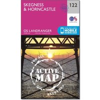 Ordnance Survey Landranger Active 122 SkegnessandHorncastle Map With Digital Version  N/a
