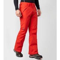 The North Face Mens Presena Ski Pants, Red
