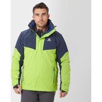 Salomon Mens Icerocket Ski Jacket, Navy