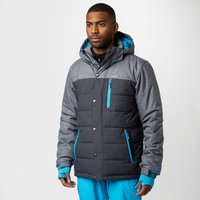Protest Mens Finest Snow Jacket, Grey