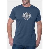 Kuhl Men's Born in the Mountains Tee, Navy