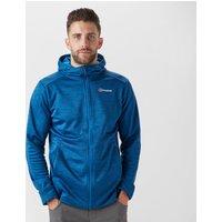 Berghaus Mens Kamloops Hooded Fleece Jacket, Blue