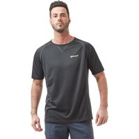 Berghaus Men's Short Sleeve Crew 2.0 T-Shirt, Black