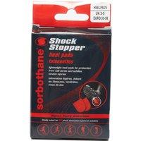 Farrell Shock Stopper Heel Pads, Red