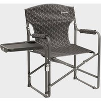 Outwell Chino Hills Camping Chair With Side Table - Grey, Grey