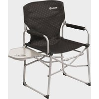 Outwell Picota Camping Chair With Side Table - Black, Black