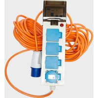 Eurohike Mobile Mains Deluxe with 2 USB - White, White