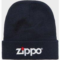 Zippo Mens Beanie Hat, Navy