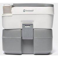 Outwell 20L Portable Toilet - Black, Black