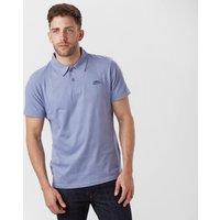 Weird Fish Men's Andy Polo Shirt, Blue