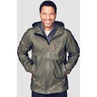 Peter Storm Mens Tornado Waterproof Jacket  Khaki