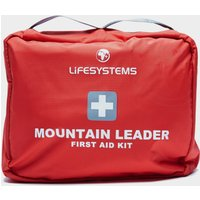 Lifesystems Mountain Leader First Aid Kit - Red, Red