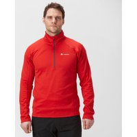 Technicals Men's Performance Half-Zip, Red