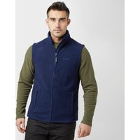 Peter Storm Mens Carrick Fleece Gilet, Navy