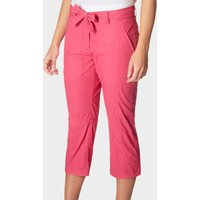 Peter Storm Womens Holiday Capri Pants, Pink