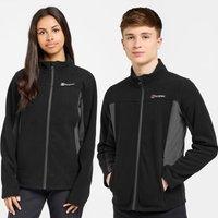 Berghaus Kids Tyndrum Full Zip Fleece Jacket - Black/Blk, Black/BLK