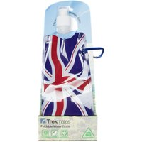 Trekmates Foldable Water Bottle Union Jack, Navy