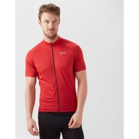 Gore Men's C3 Cycling Jersey - Red, Red