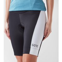 Gore Women's C3 Short Tights+, Black/White