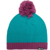 Mountain Equipment Womens Chunky Pom Hat, Blue