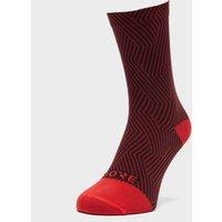 Gore Men's C3 Optiline Mid Socks, Red